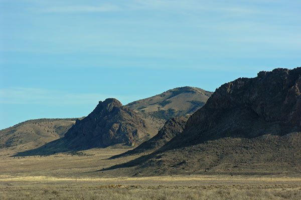 Obscure mountain ranges of southern Idaho, NW Utah, and