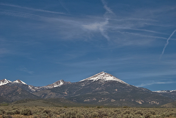 Great Basin National Park from Spring Valley