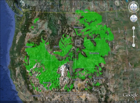 Greater Sage Grouse Distribution