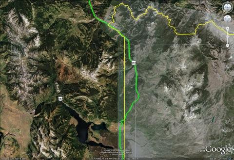 Highway 191 through Yellowstone