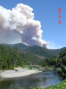 Titus Fire - U.S. Forest Service photo